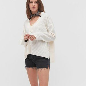 Urban Outfitters Anka Slouchy VNeck Jumper Sweater